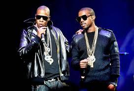 JayZ and Kanye