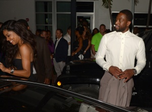 Dwyane Wade and Gabrielle Union Wedding Rehearsal Dinner At Prime 112 Steakhouse
