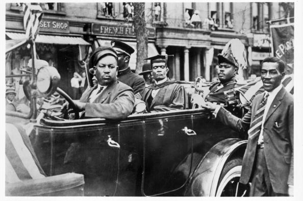 Marcus Garvey In Harlem