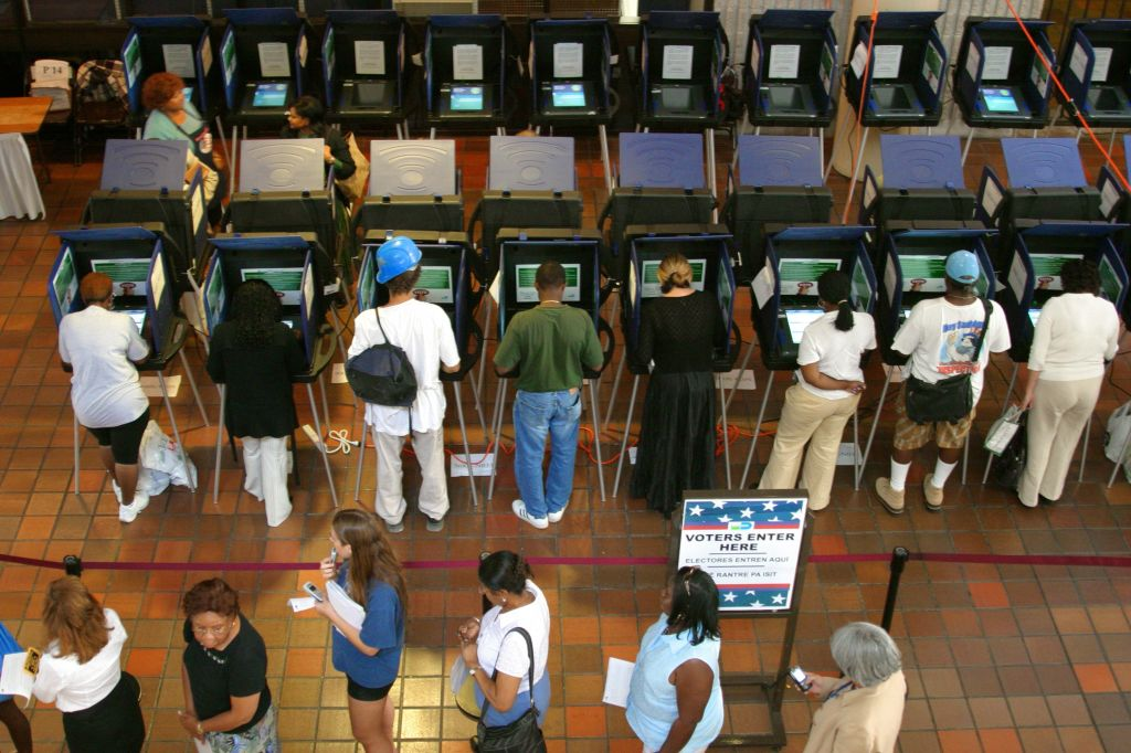 Touch Screen Voting Machines