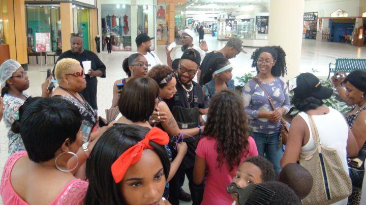 Ro James Block Party Lafayette Square Mall