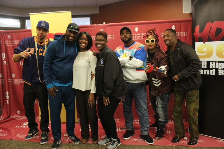 Rickey Smiley Morning Show Indy Bus Tour