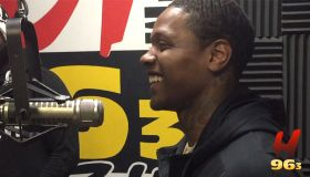 Lil Durk Visits Hot 96.3