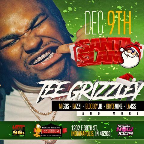 Santa Slam 2018 Graphics