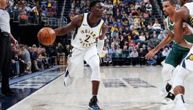 Milwaukee Bucks v Indiana Pacers
