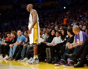 Indiana Pacers v Los Angeles Lakers