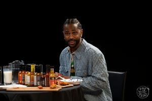 Big Sean Takes on 'Hot Ones' Challenge