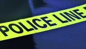 Neon Yellow Police Line Caution Tape