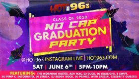 Hot 96.3 No Cap Graduation Party