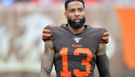 Odell Beckham Jr In Browns Uniform