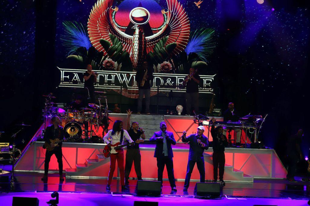 Earth, Wind & Fire perform at The Venetian Las Vegas
