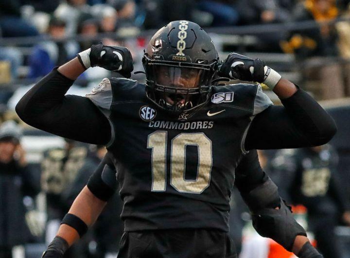 Round 2, Pick 54: Vanderbilt Defensive End Dayo Odeyingbo
