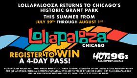 Hot963 Lollapalooza Online Sweepstakes