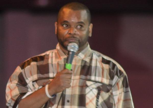 "Comedian Anthony ""AJ"" Johnson"